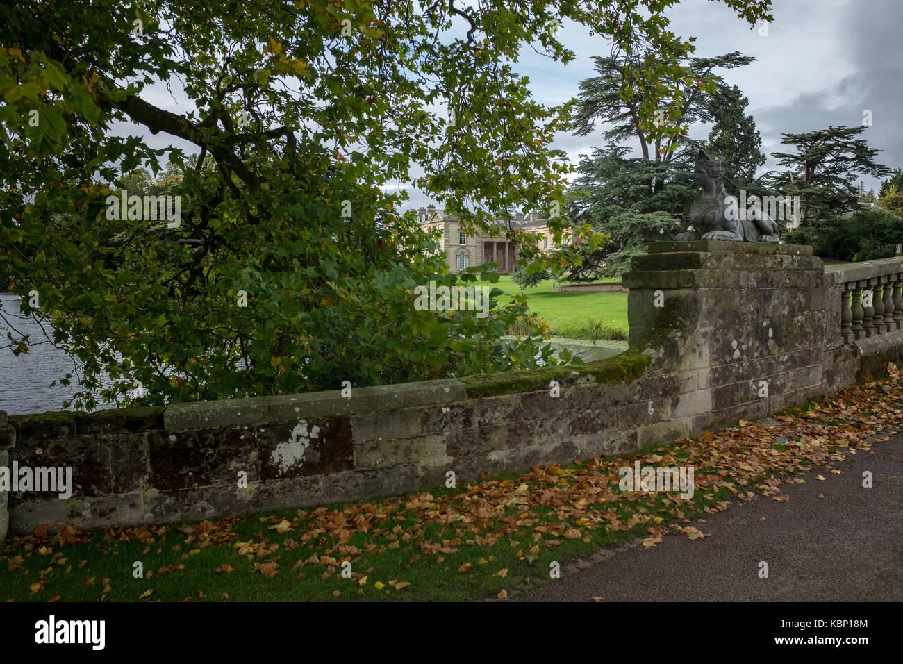 Compton Verney art gallery, Warwickshire UK - Stock Image