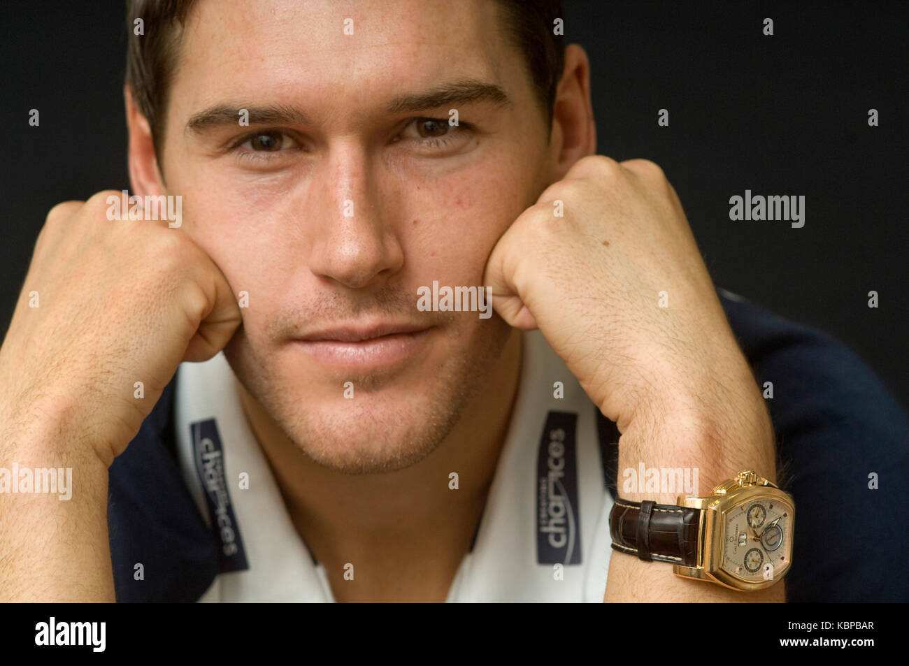 Gareth Barry, premiership football player for West Bromwich Albion - Stock Image