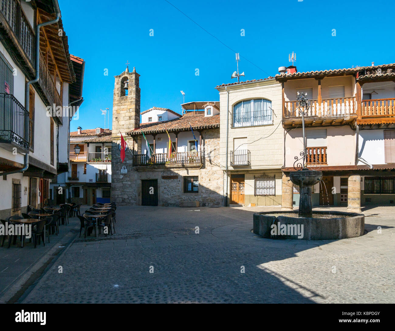 Ayuntamiento de Villanueva de la Vera. Cáceres. Extremadura. España - Stock Image