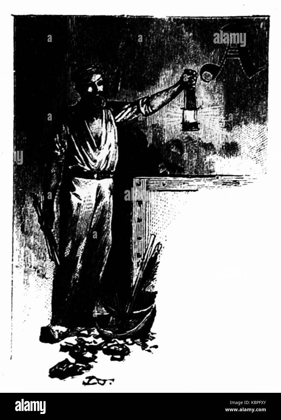 Die Gartenlaube (1892) b 848 1 - Stock Image