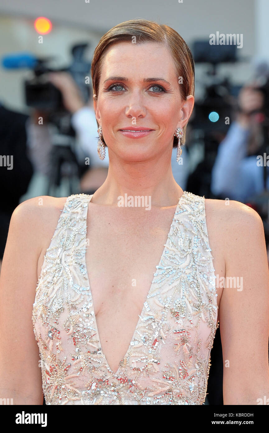 74th Venice Film Festival - 'Downsizing' - Premiere  Featuring: Kristen Wiig Where: Venice, Italy When: - Stock Image