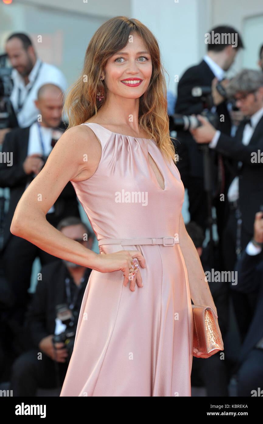 74th Venice Film Festival - 'Downsizing' - Premiere  Featuring: Francesca Cavallin Where: Venice, Italy - Stock Image