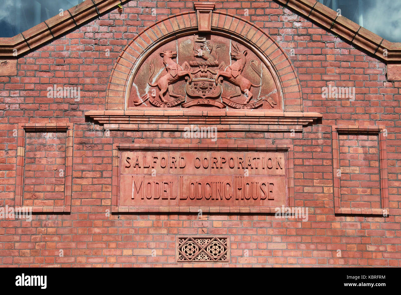 Salford Corporation Model Lodging House building - Stock Image