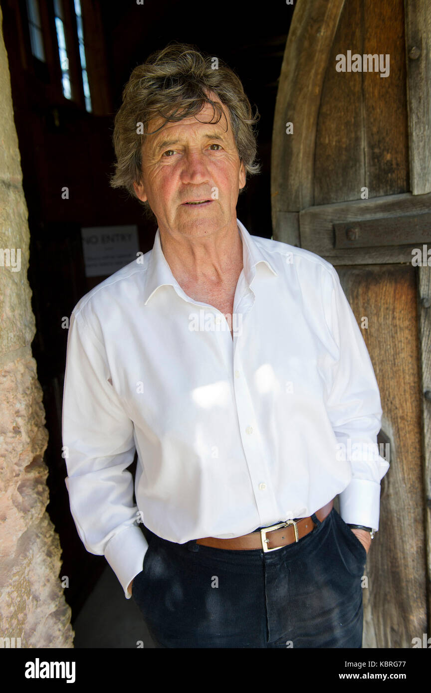 Author, journalist, broadcaster Melvyn Bragg, Baron Bragg. Stock Photo