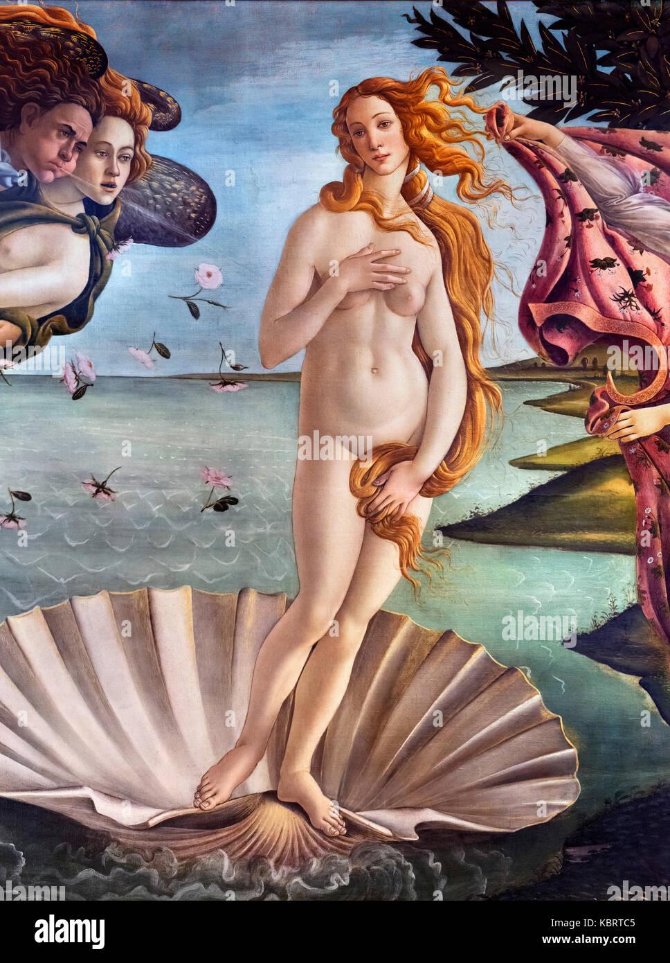 Die Geburt der Venus Poster La nascita di Venere Sandro Botticelli