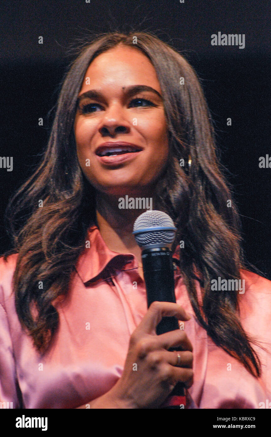 New York, NY, USA. 30th Sep, 2017. Misty Copeland at the Annual Circle of Sisters EXPO, on Saturday, September 30, - Stock Image
