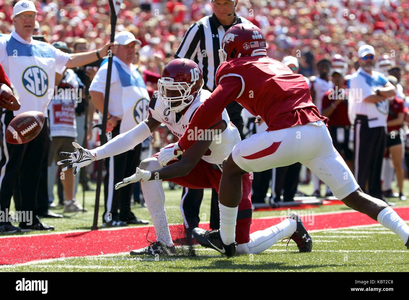 on sale 68b6a 90c5d Sep 30, 2017: Aggies receiver Jaleel Scott #16 attempts to ...