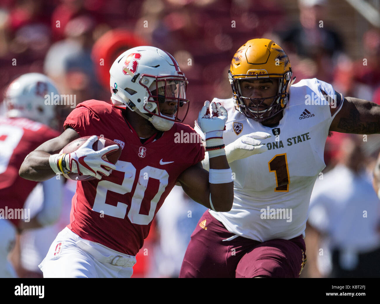Stanford California Usa 30th Sep 2017 Stanford Cardinal Running
