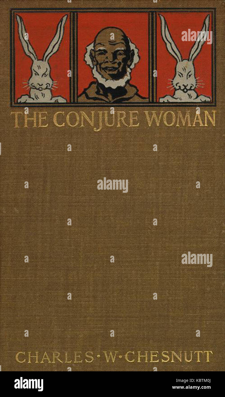 Conjure Woman book cover - Stock Image