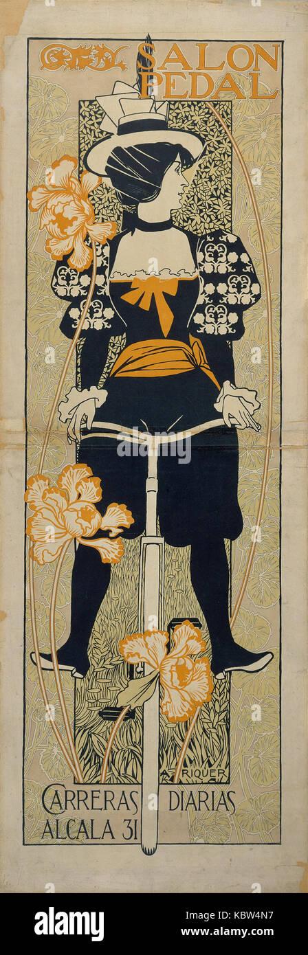 Alexandre de Riquer   Salon Pedal - Stock Image