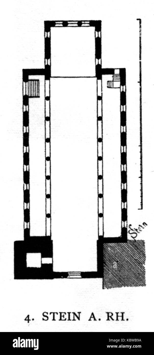 Dehio 48 Stein am Rhein - Stock Image