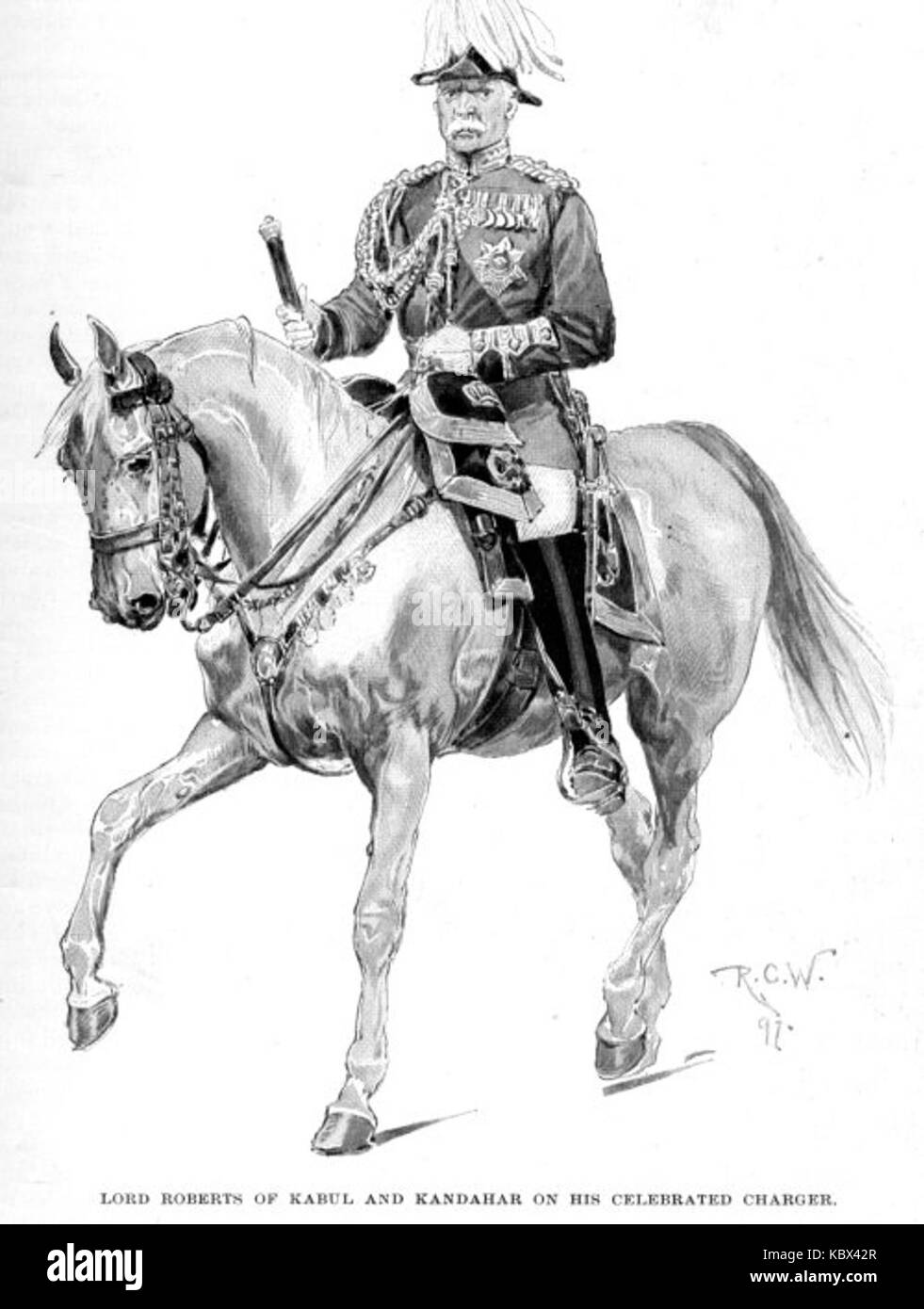 Lord roberts of kandahar - Stock Image