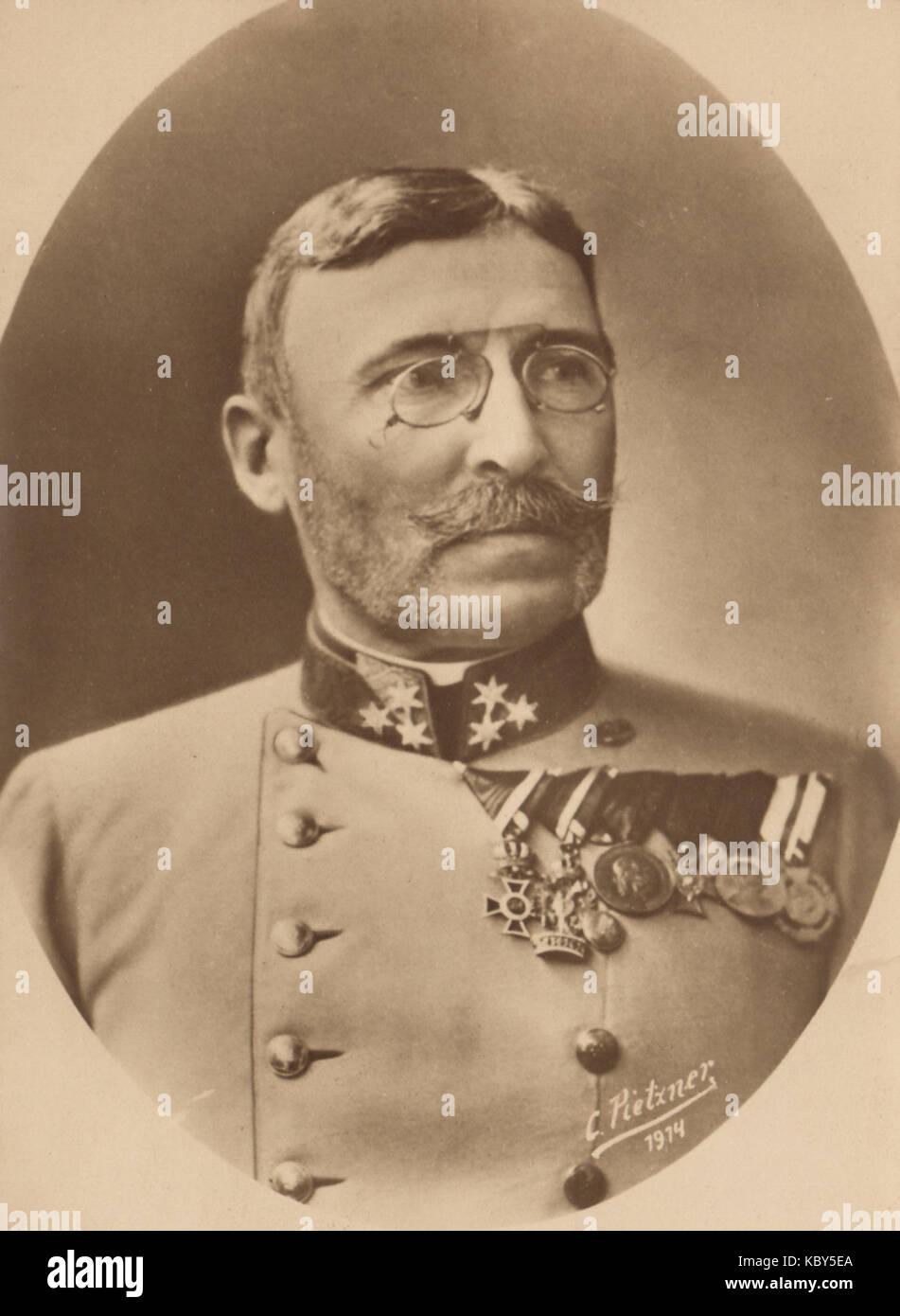 General Moritz von Auffenberg - Stock Image