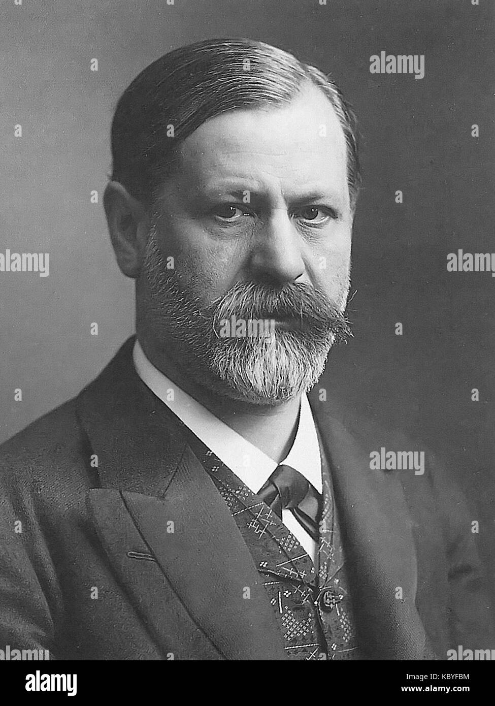 Sigmund freud um 1905 Stock Photo