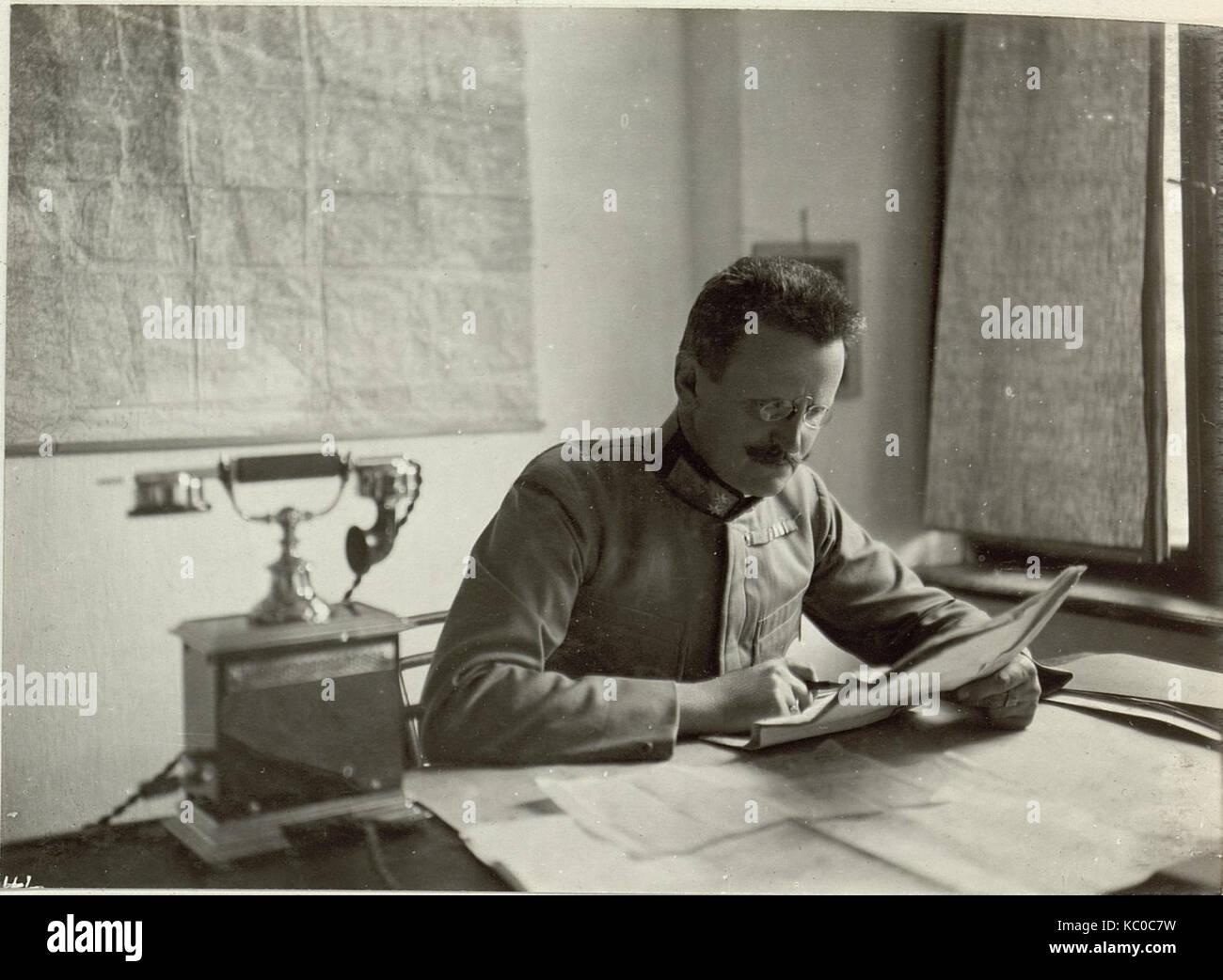 Generalstabschef der 48. ITD. Obstlt.des Gstbs. STEURER. Aufgenommen, am 22. September 1915. (BildID 15460335) - Stock Image