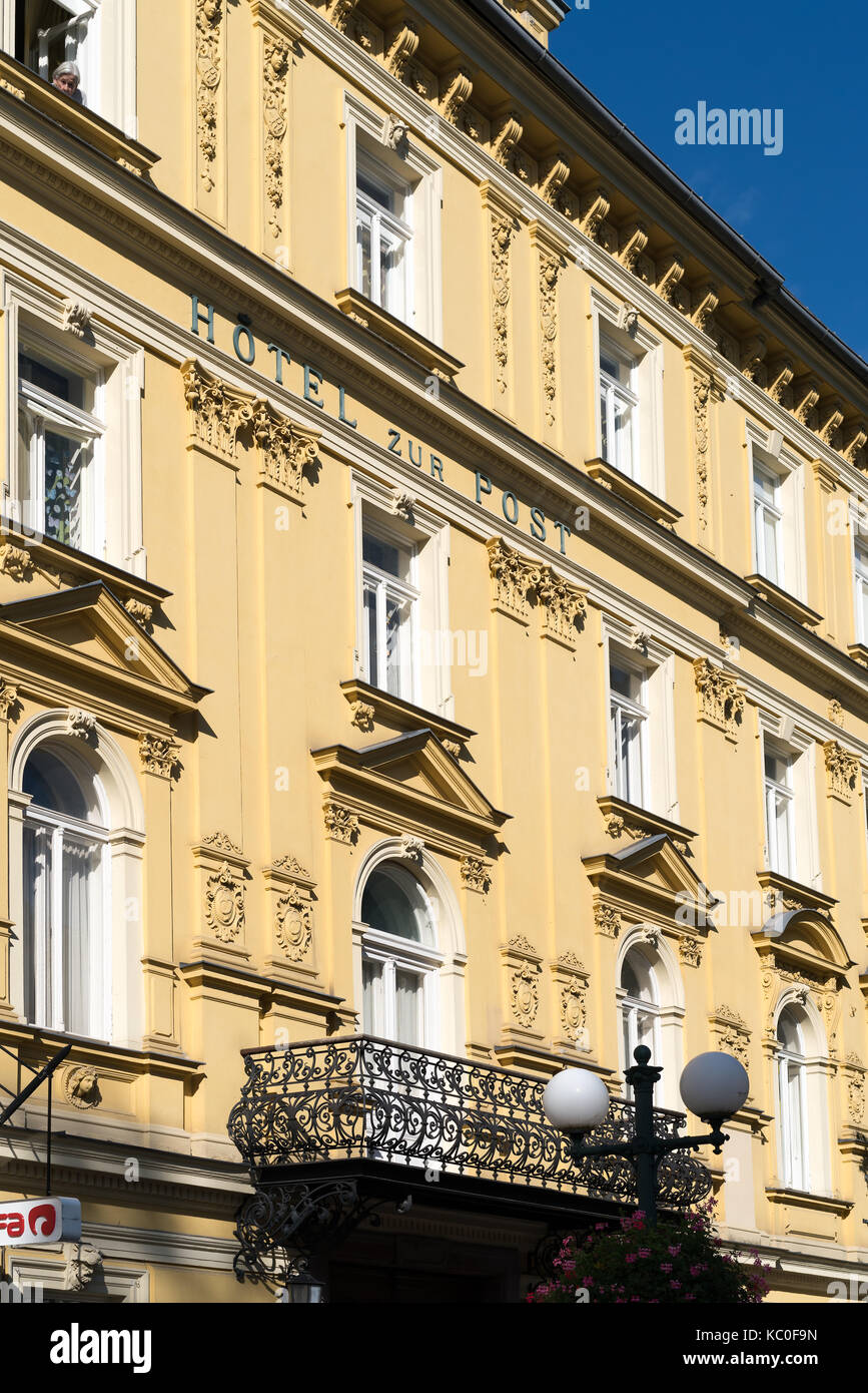 Example of Austrian Architecture in Bad Ischl - Stock Image