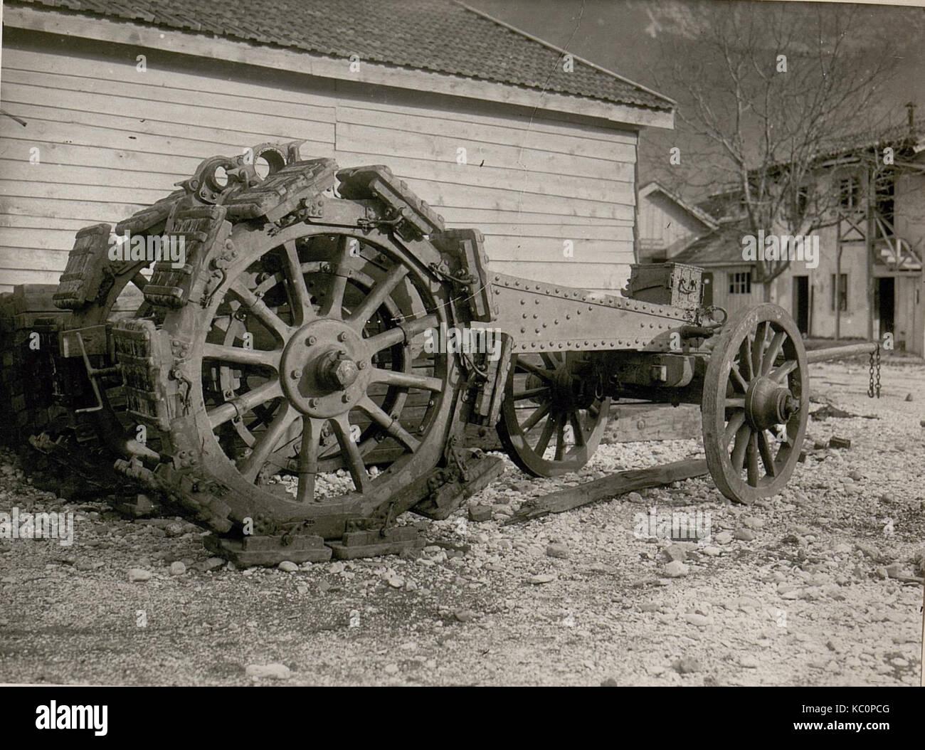 Itl.Lafette in Tolmezzo. (Munitionsdepot.) (BildID 15508109) Stock Photo