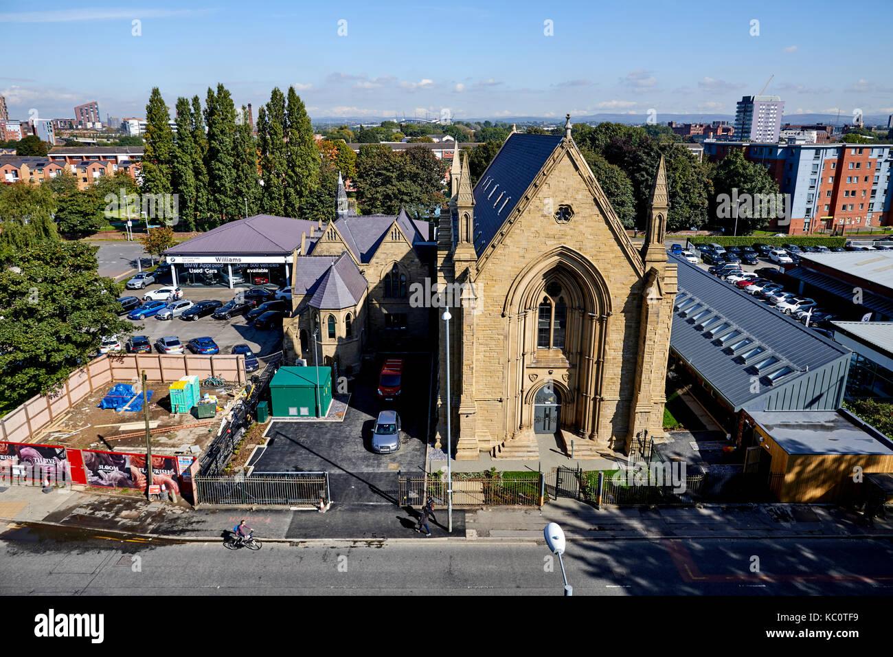 Upper Brook Street Unitarian Chapel now Islamic Academy  ex Unitarian, then Baptist, then Jehovah's Witness, - Stock Image