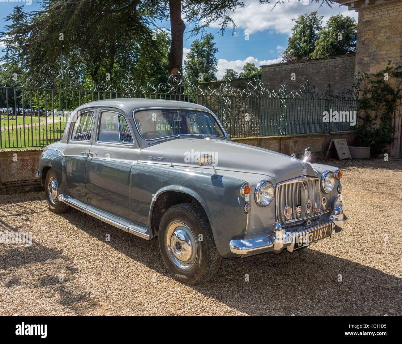 Classic British motorcar - Stock Image