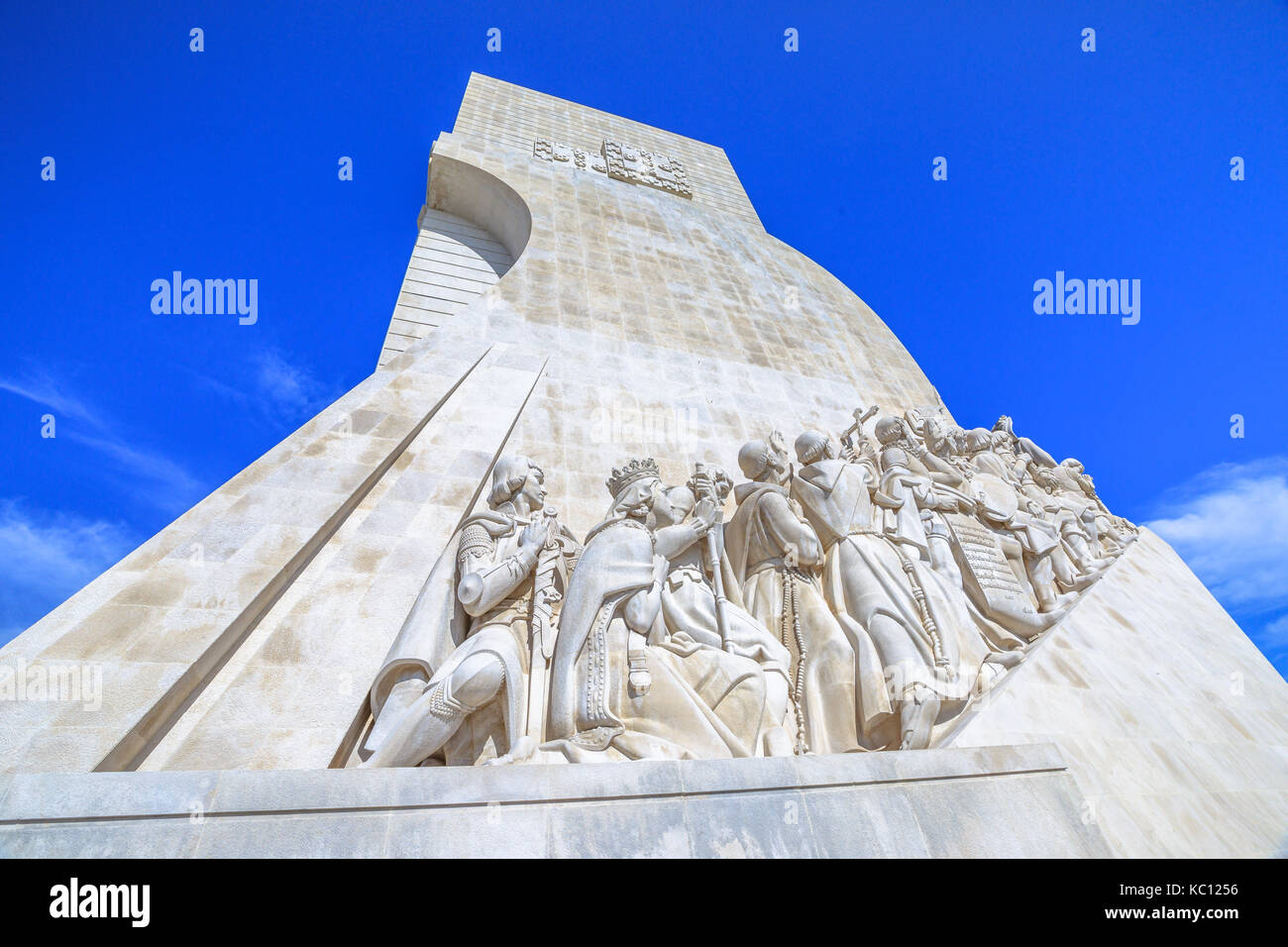 Lisbon Discoveries Monument - Stock Image