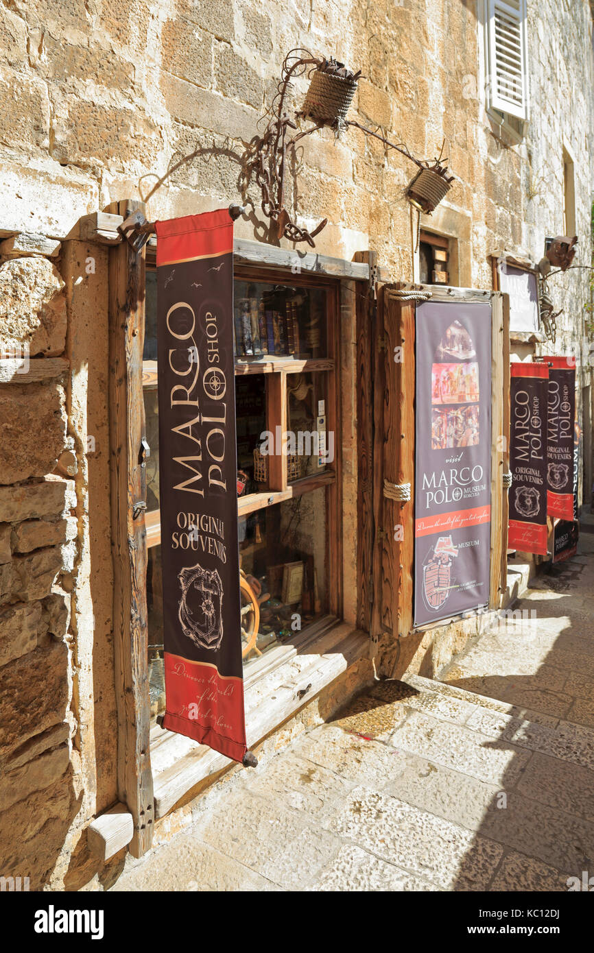 uk availability 81fd6 7fca9 Marco Polo Shop, Korcula Town, Korcula Island, Croatia ...