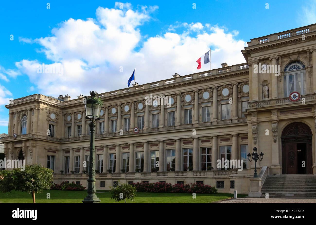 The French Ministry of Foreign Affairs ,Paris, France. Stock Photo