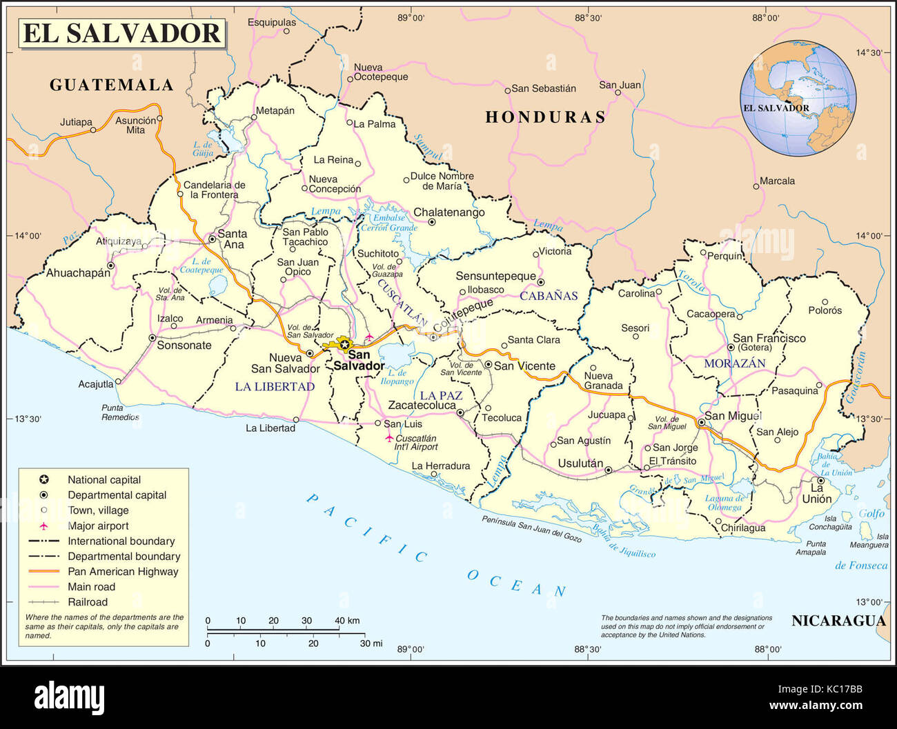 A map of El Salvador Stock Photo: 162296943 - Alamy Kc Map Of Mi on map of ad, map of ta, map of kansas, map of chi, map of ms, map of bali, map of kcmo, map of ra, map of na, map of ar, map of scott, map of paul, map of se, map of ne, map of cin, map of den, map of ma, map of md, map of cf, map of mh,