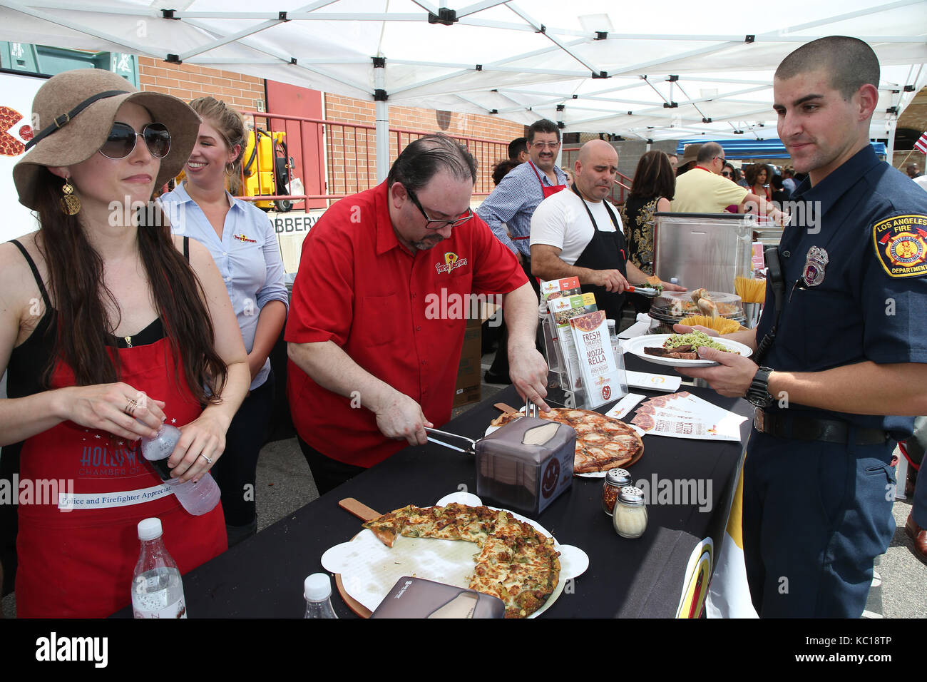 23rd Annual LAPD and LAFD Appreciation Day for police officers and