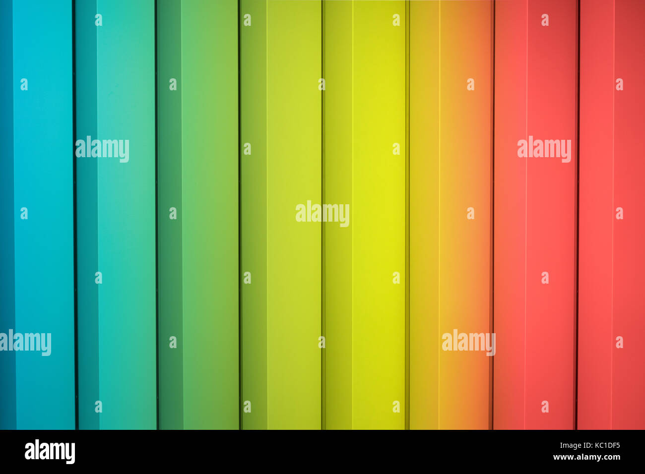 abstract colorful  background - rainbow colors, striped - Stock Image