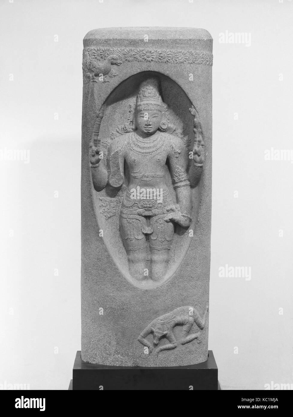 Shiva Emerging from the Linga (Lingodbhavamurti), 12th century - Stock Image