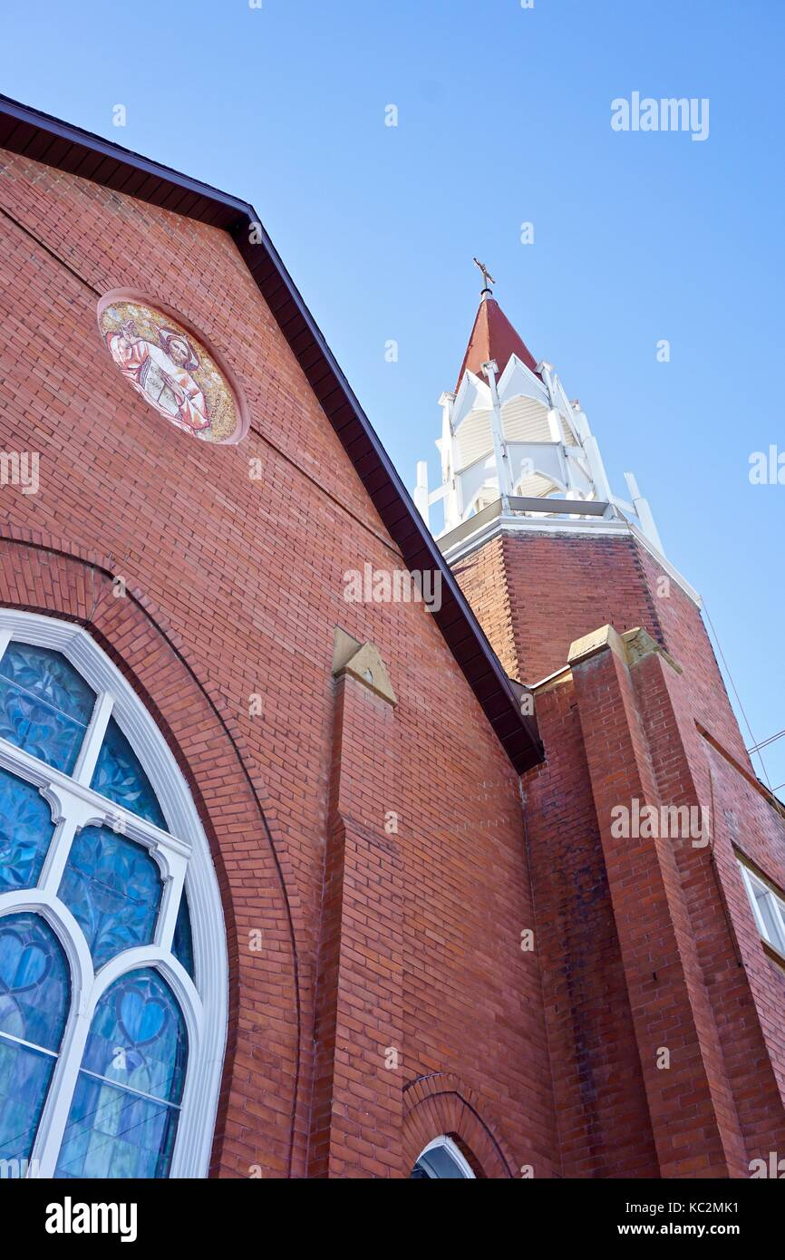 Red Brick Facade Stock Photos Amp Red Brick Facade Stock