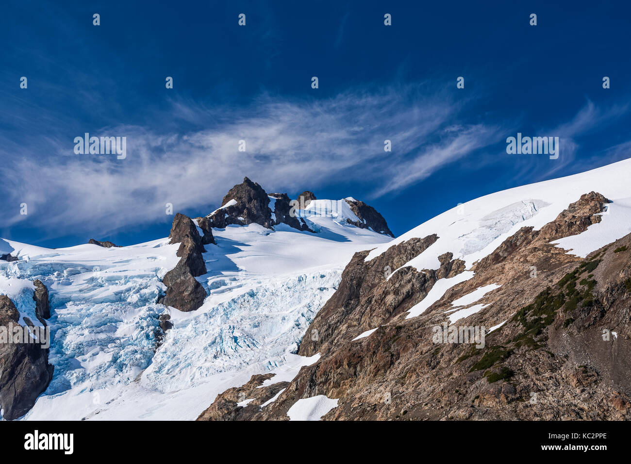 Bleue Glacier : Mount olympus blue glacier olympic stock photos