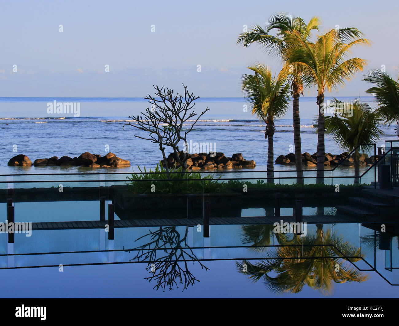 Balaclava, Mauritius - lifestyle images of the Westin Turtle Bay Resort and Spa on the island - Stock Image