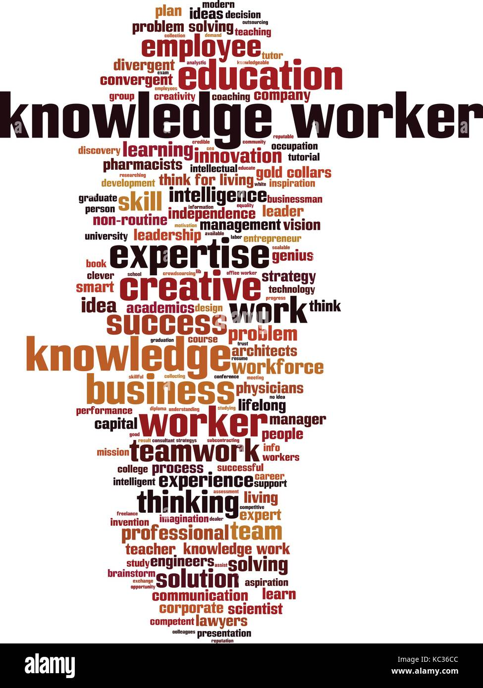 how many knowledge workers in the world