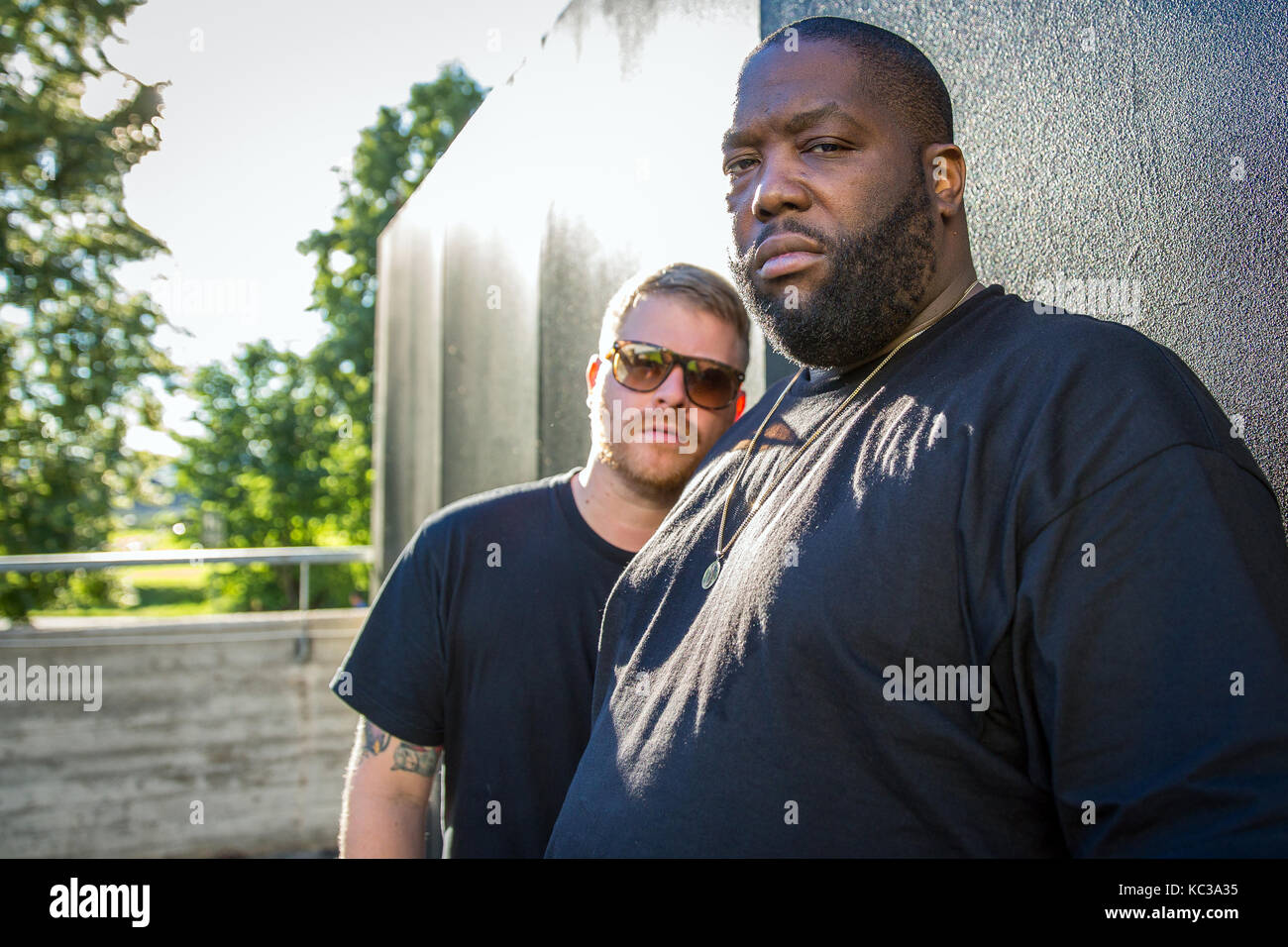 The American hip hop and rap duo Run The Jewels is portrayed