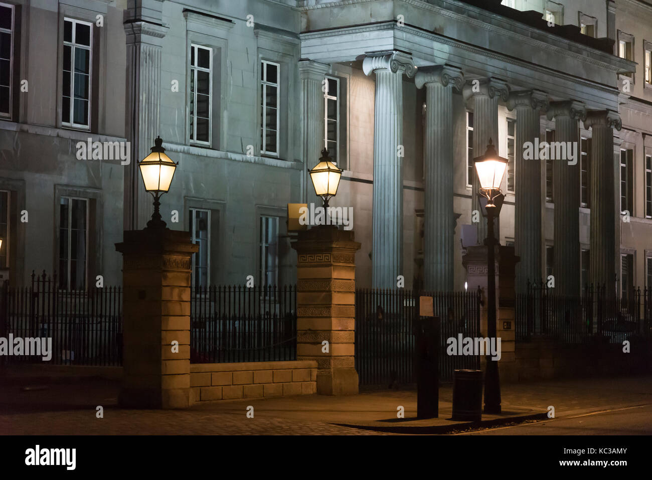 Royal College of Surgeons of England, Lincoln's Inn Fields, London, UK - Stock Image