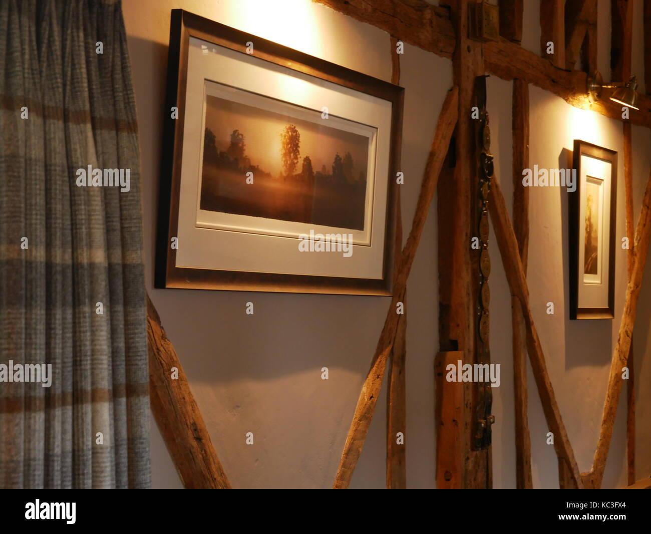 Country Lounge Stock Photo Alamy