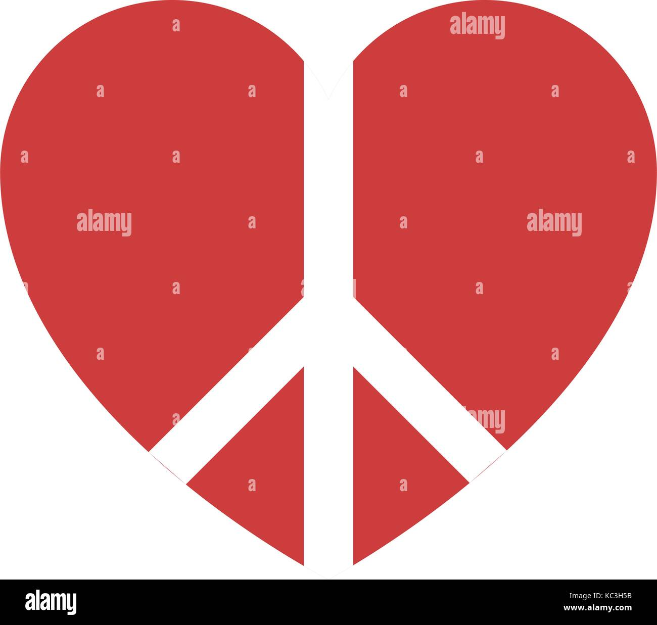 Peace Pacifism Pacifist Symbol Cut Out Stock Images Pictures Alamy