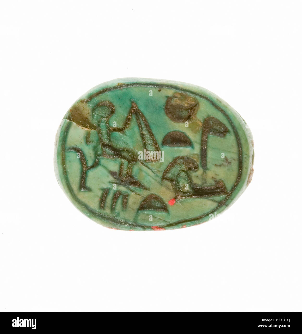 Scarab Inscribed for the God's Wife Hatshepsut, ca. 1479–1458 B.C - Stock Image