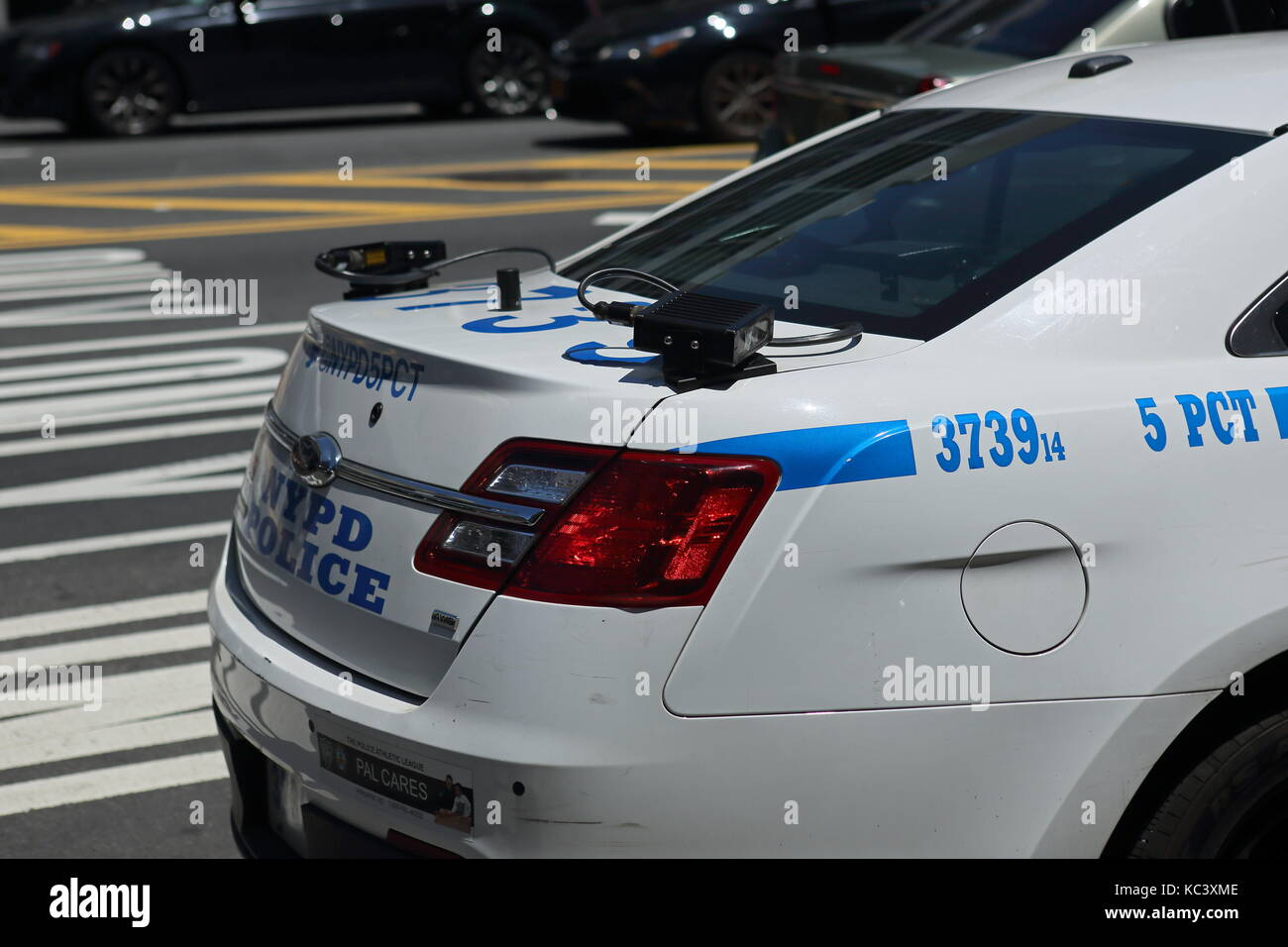 License Plate Scanner >> An Nypd Patrol Car With License Plate Scanners In New York New York