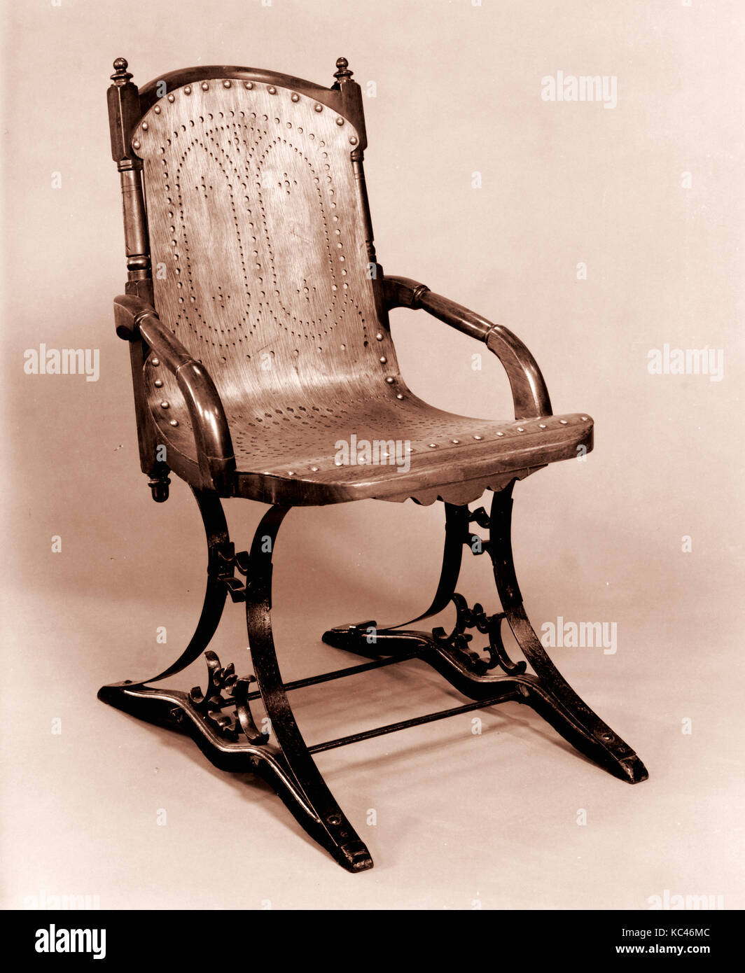 Sensational Platform Rocking Chair Gardner And Company Patented 1872 Gmtry Best Dining Table And Chair Ideas Images Gmtryco