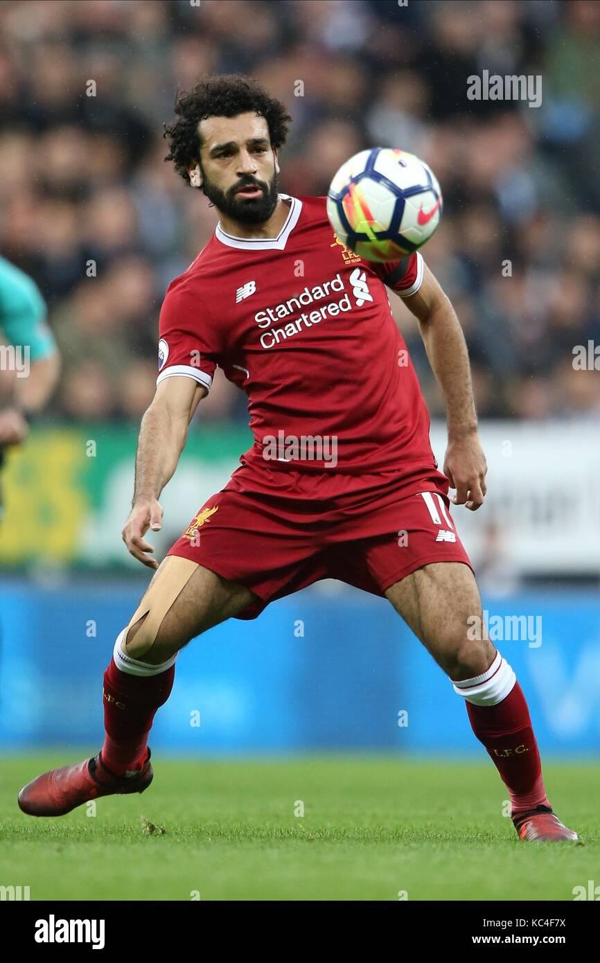 Mohamed Salah Liverpool Fc Liverpool Fc St James Park Newcastle Stock Photo Alamy