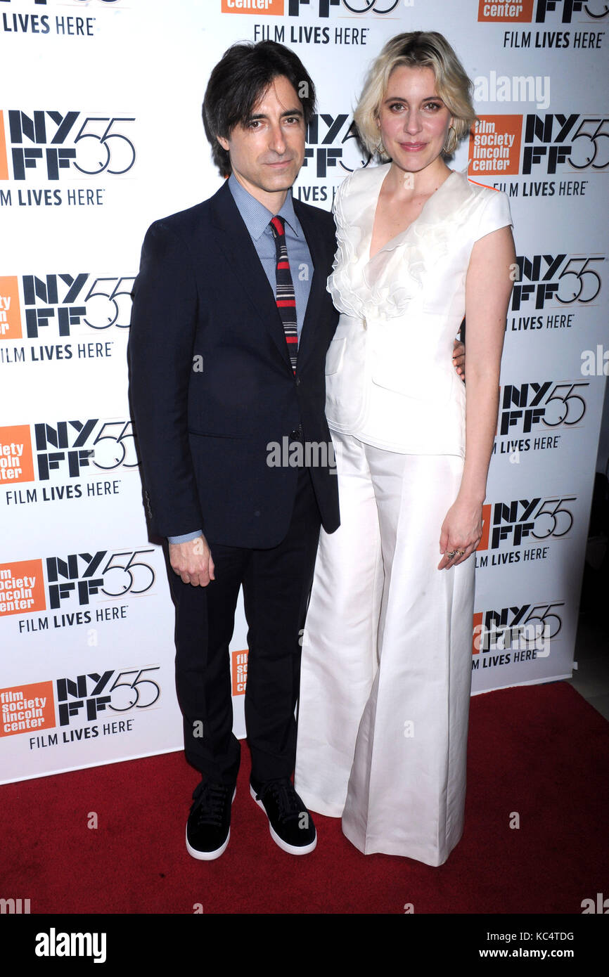 Noah Baumbach and Greta Gerwig attend 'The Meyerowitz