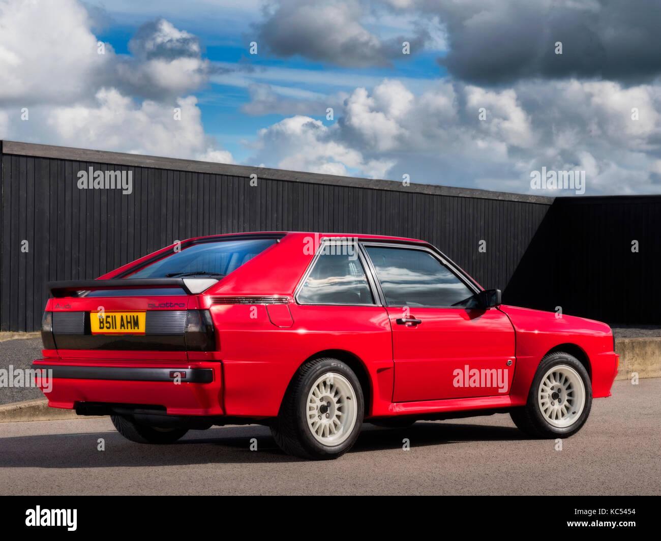 Audi Sport Quattro SWB 1985 - Stock Image