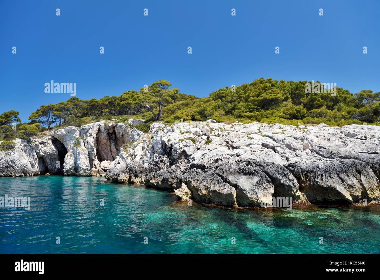 Tremiti Island San Domino, Gargano National Park, Puglia, Adriatic Sea, Italy - Stock Image
