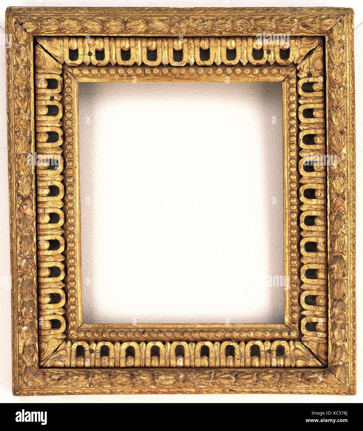 Cassetta frame, 1575–80, Italian, Florence, Poplar, Overall: 19 1/2 ...