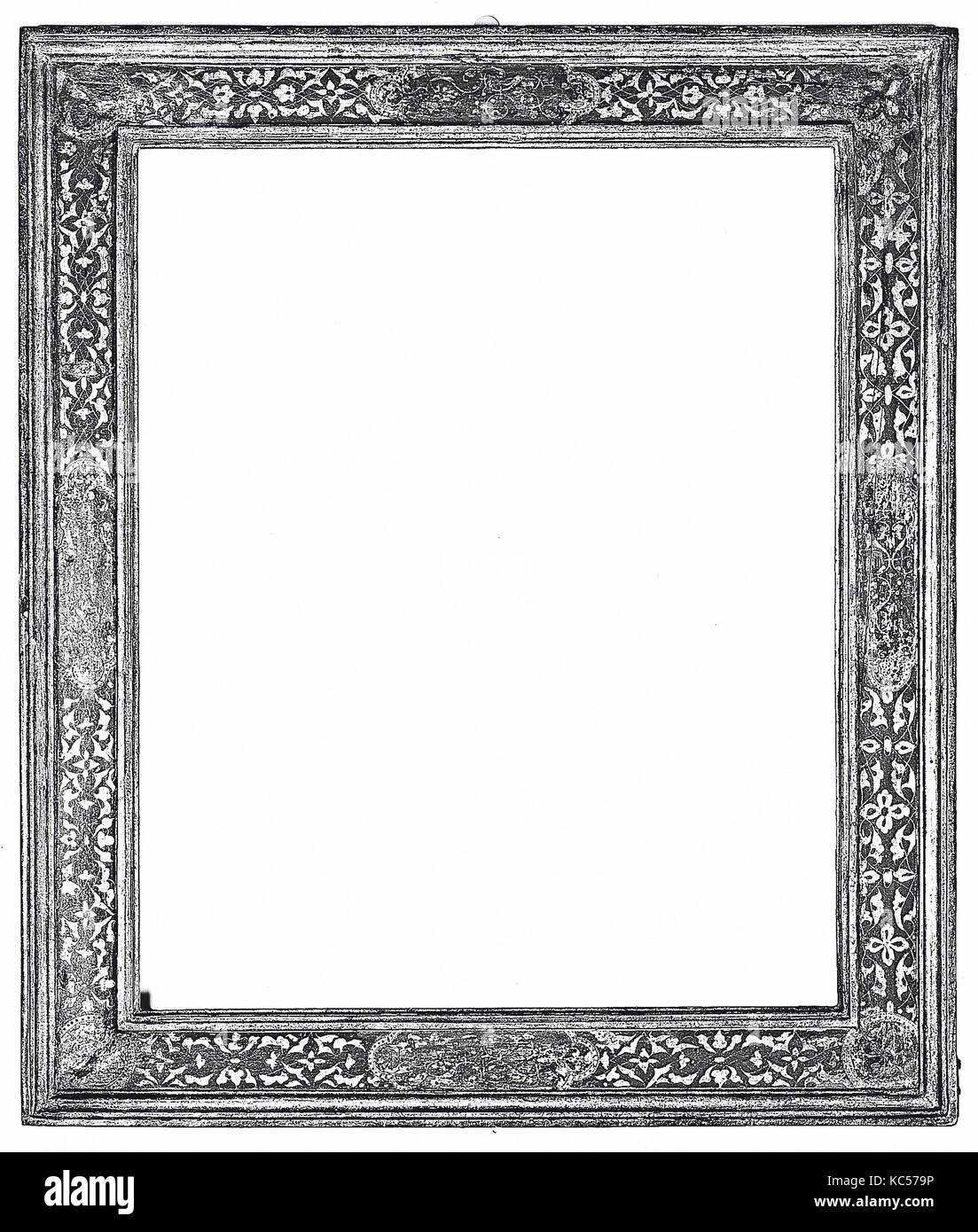 Cassetta frame, early 16th century, Italian, Venice, Gilt pine, 87 x ...