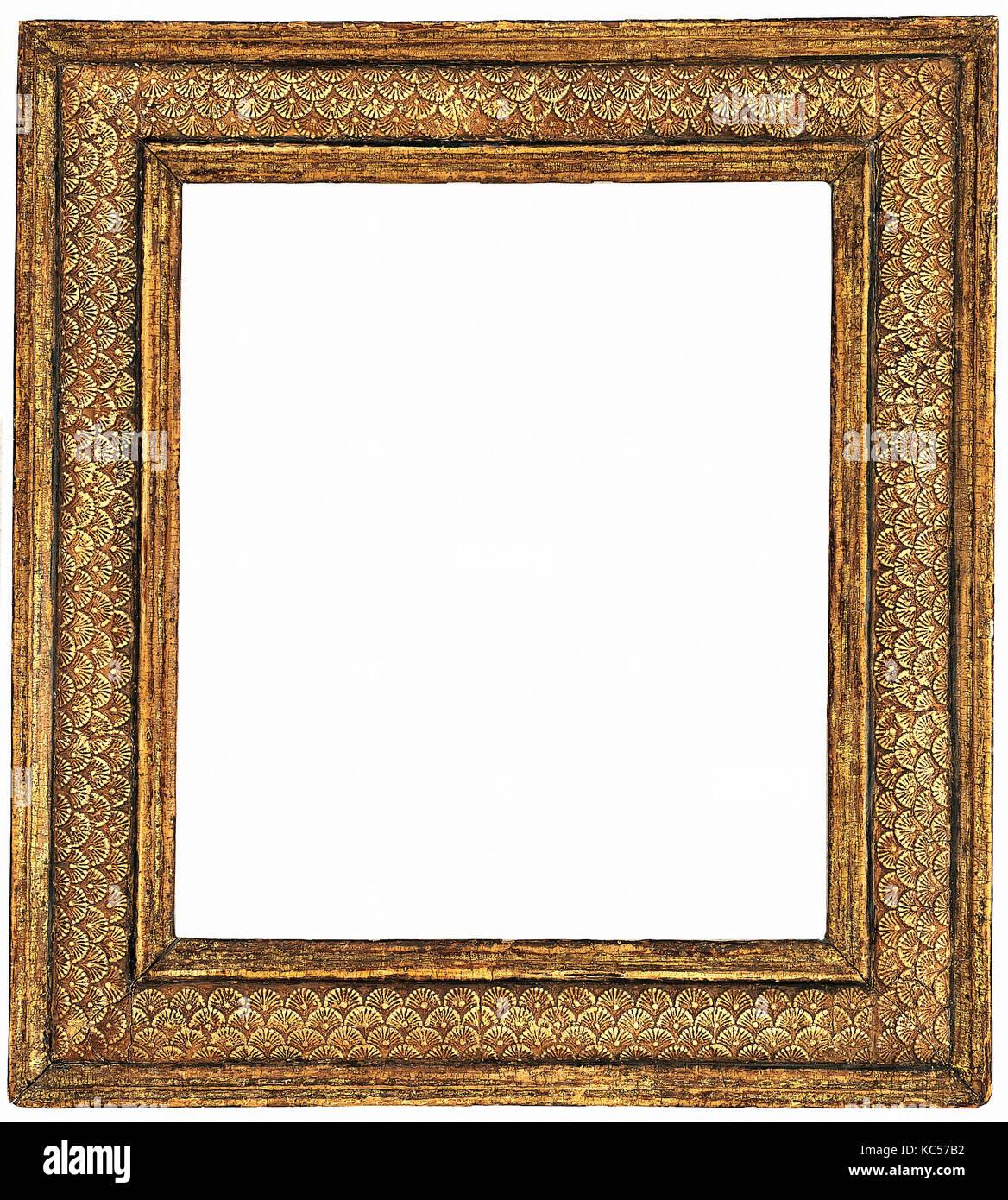 Cassetta Frame, mid-16th century, Italian, Veneto, Pine, Overall: 17 ...
