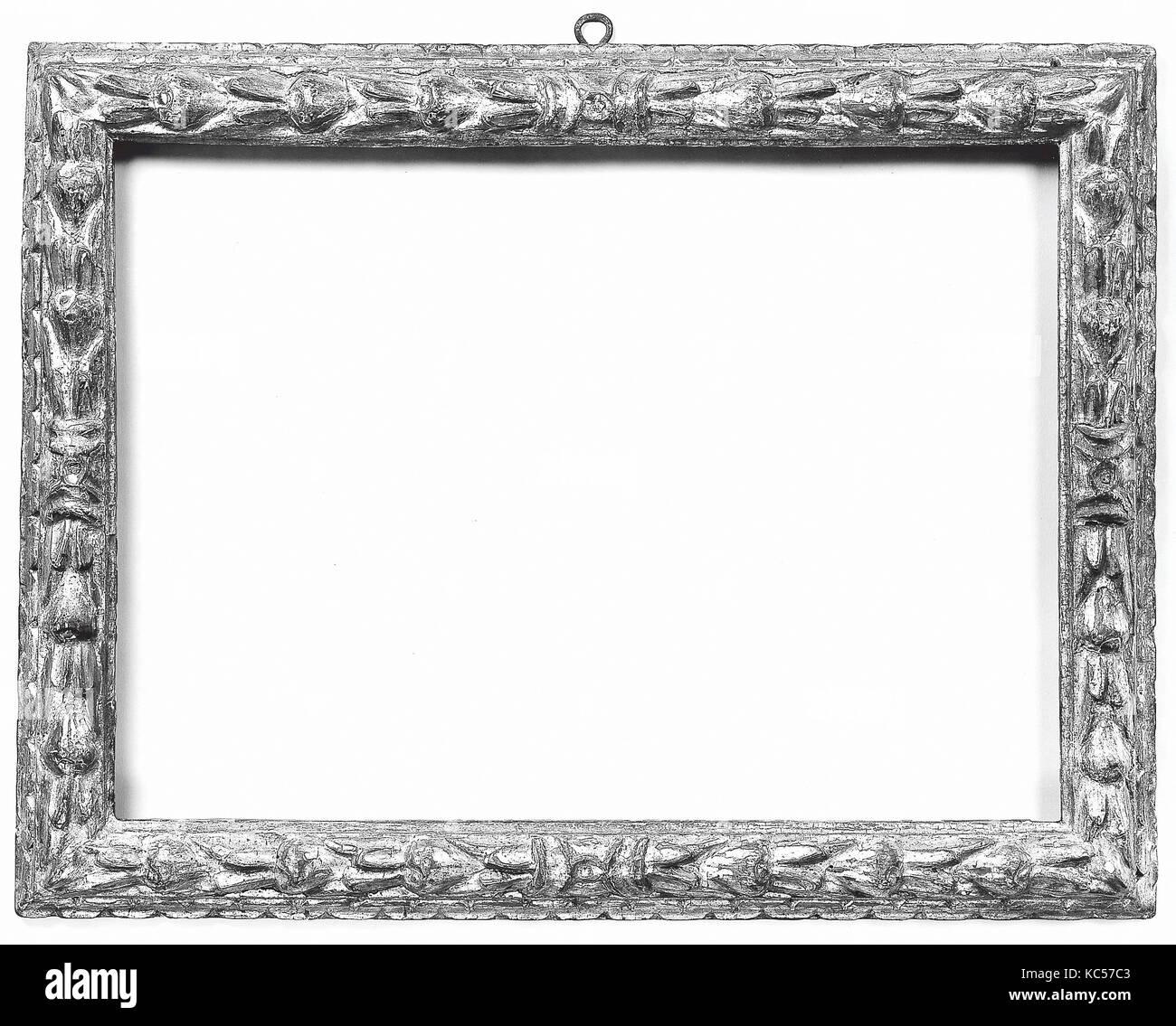 Astragal frame, early 17th century, Italian, Verona (?), Poplar ...
