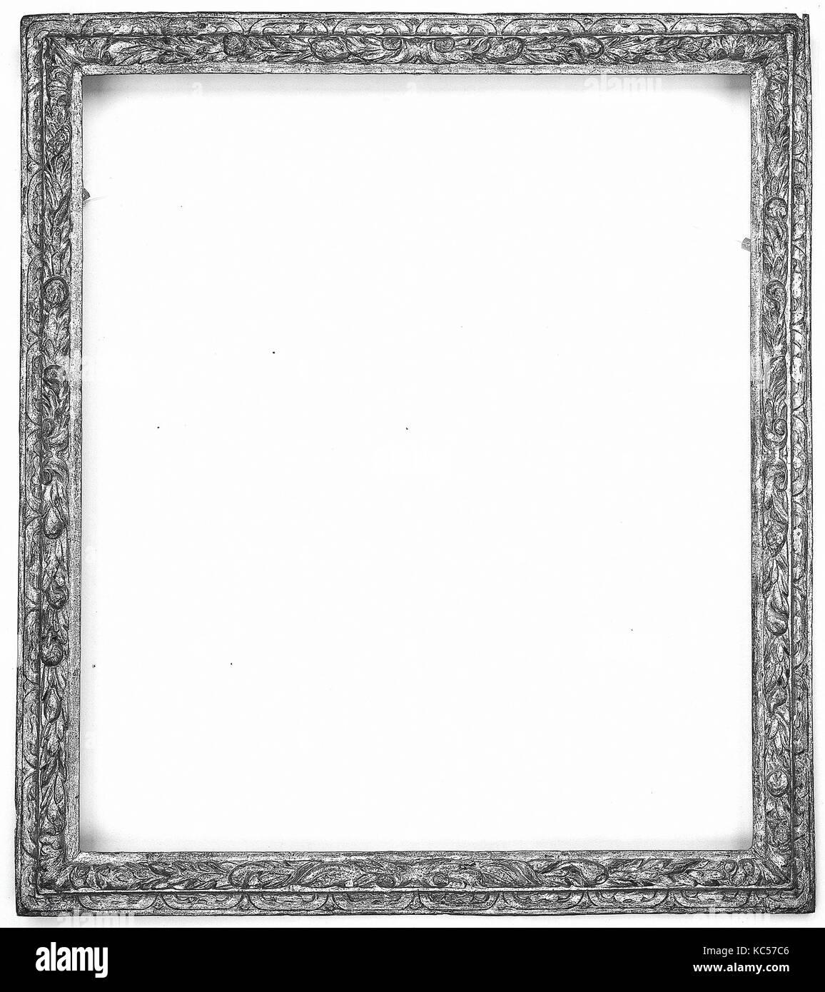 Astragal frame, early 17th century, Italian, Veneto, Poplar, Overall ...